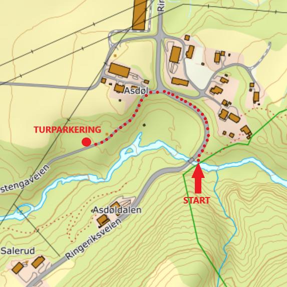 Turparkering_Asdøljuvet_-_Vestmarka_-_Oslomarka_-_Fantastiske_marka