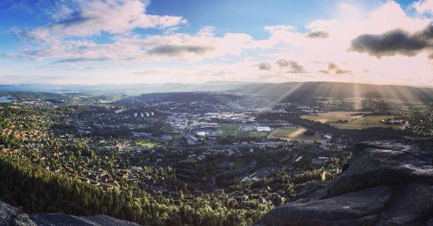 Utsikt fra Søndre Kolsås - Oslomarka - Bærumsmarka - Fantastiske marka
