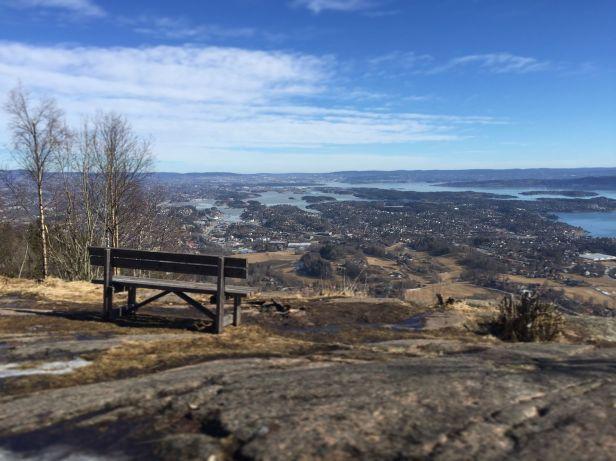Utsikt fra Skaugumsåsen - Oslomarka - Vestmarka - Fantastiske marka