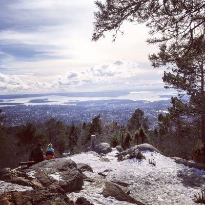 Utsikt fra Vettakollen i Oslo - Oslomarka - Nordmarka - Fantastiske marka