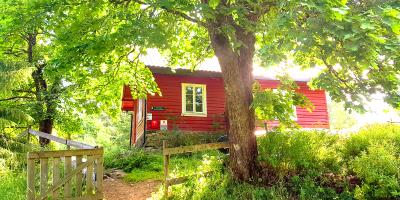 DNT-hytta Øvresaga i Østmarka - Oslomarka - Fantastiske marka