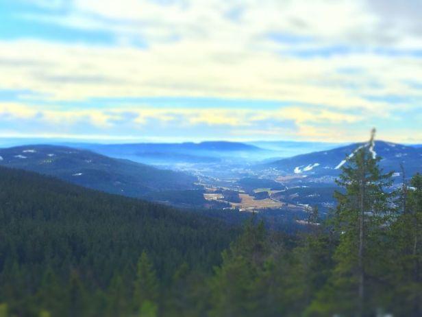 Utsikten fra Rundkollen - Oslomarka - Romeriksåsene - Fantastiske marka