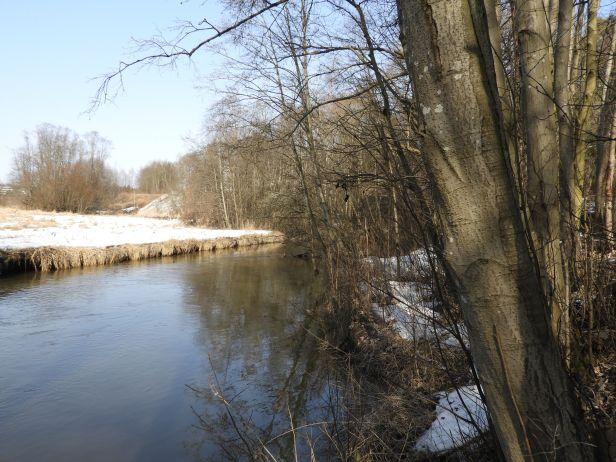 Langs elva på Smalvollen - Alnaelva - Fantastiske marka