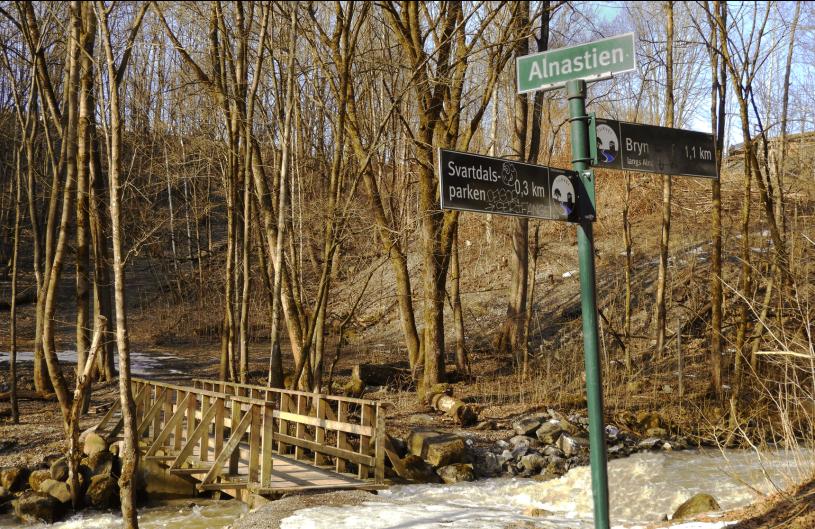På tur langs Alnaelva - Alnastien - Svartdalen - Lillomarka - Fantastiske marka