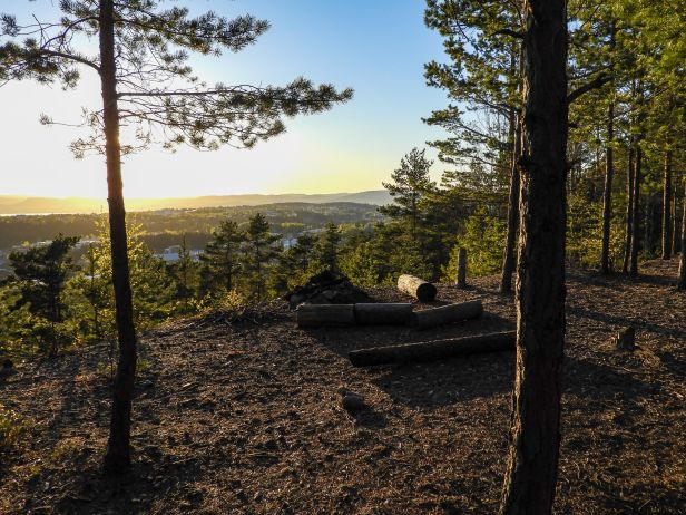 Utsikt fra Skullerudåsen - Oslomarka - Østmarka - Fantastiske marka