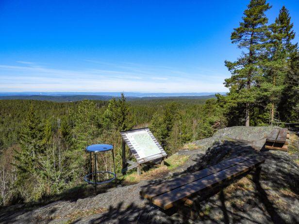 Utsikten fra Tømmerås - Oslomarka - Østmarka - Fantastiske marka
