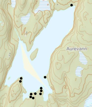 Teltplasser ved Aurevann - Oslomarka - Lillomarka - Fantastiske marka
