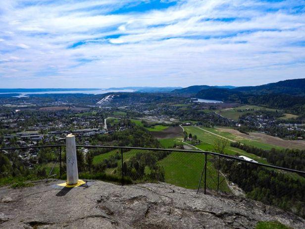 Utsikten fra Solfjellstua - Oslomarka - Krokskogen - Fantastiske marka