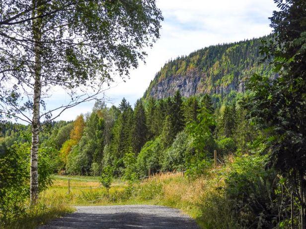 Stupet på Ramsås sett fra Skui - Oslomarka - Vestmarka - Fantastiske marka
