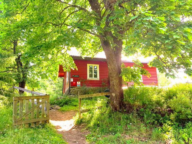 DNT hytta Øvresaga i Østmarka - Oslomarka - Fantastiske marka