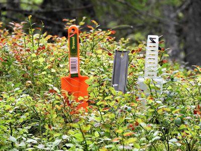 En dospade er viktig utstyr å ha med på tur - Oslomarka - Fantastiske marka