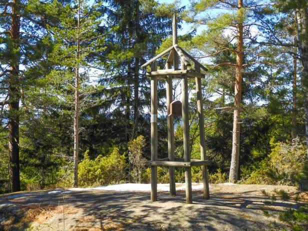 Klokketårn langs Oldtidsveien over Gjelleråsen - Oslomarka - Lillomarka - Fantastiske marka