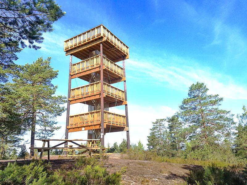 Utsiktstårnet på Hjellsåsen - Oslomarka - Sørmarka - Fantastiske marka