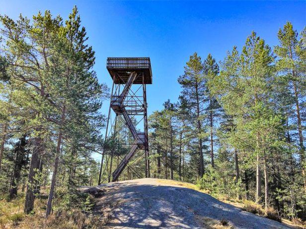 Utsiktstårnet på Kjerringhøgda - Oslomarka - Østmarka - Fantastiske marka