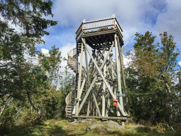 Utsiktstårnet på Oppkuven - Oslomarka - Krokskogen - Fantastiske marka