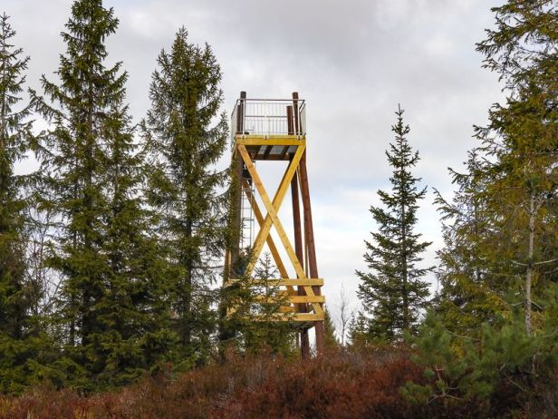 Utsiktstårnet på Raudfjell - Oslomarka - Romeriksåsen - Fantastiske marka