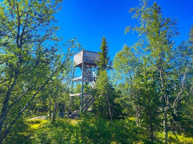 Utsiktstårnet på Svarttjernshøgda - Oslomarka - Nordmarka - Fantastiske marka