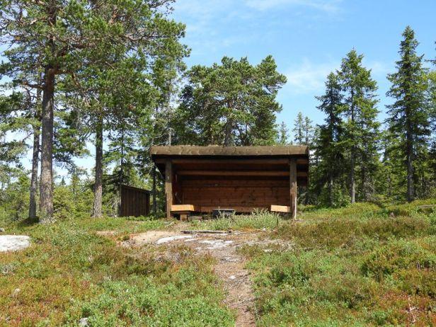 Gapahuken på Borgersæterhøgda - Oslomarka - Krokskogen - Fantastiske marka