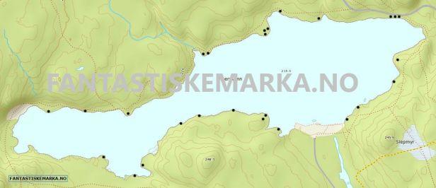 Leirplasser teltplasser hengekøyeplasser - Østernvann - Oslomarka - Bærumsmarka - Fantastiske marka.png