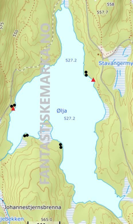 Leirplasser - Ølja - Oslomarka - Nordmarka - Fantastiske marka