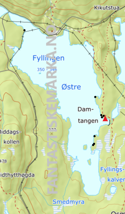 Leirplasser - Østre Fyllingen - Oslomarka - Nordmarka - Fantastiske marka