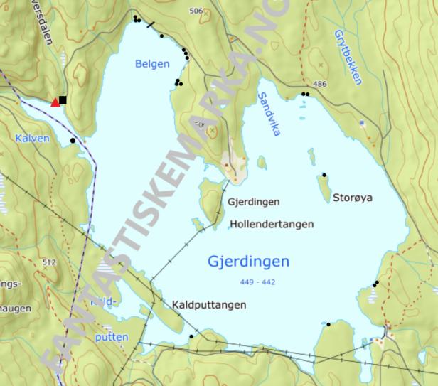 Leirplasser - Gjerdingen - Oslomarka - Nordmarka - Fantastiske marka