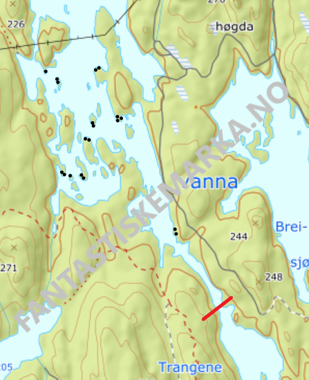 Leirplasser i Børtervanna sør i Østmarka - Oslomarka - Fantastiske marka
