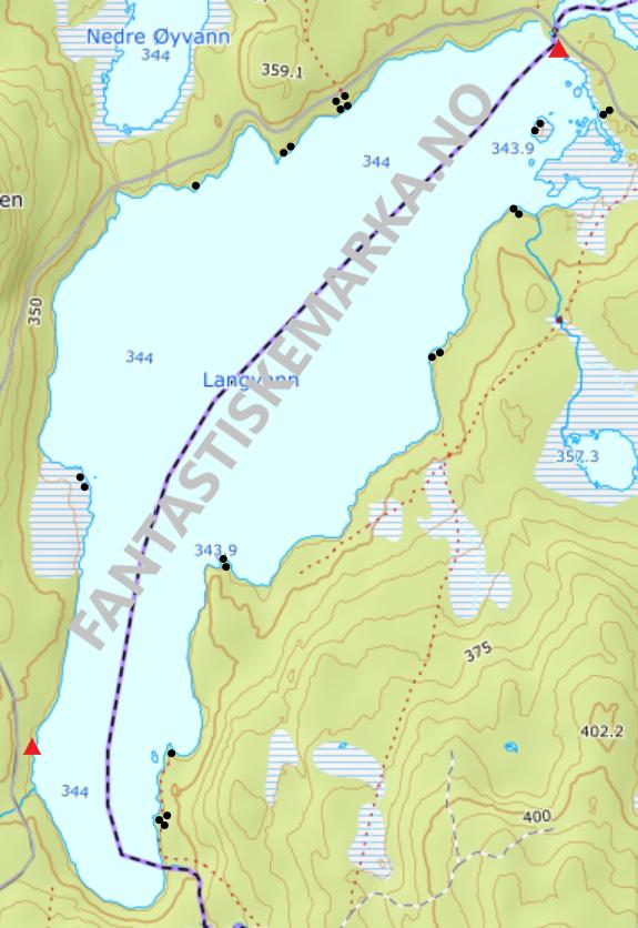 Leirplasser - Langvann - Oslomarka - Nordmarka - Fantastiske marka