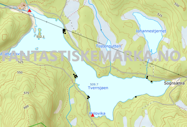 Leirplasser - Tverrsjøen - Oslomarka - Nordmarka - Fantastiske marka