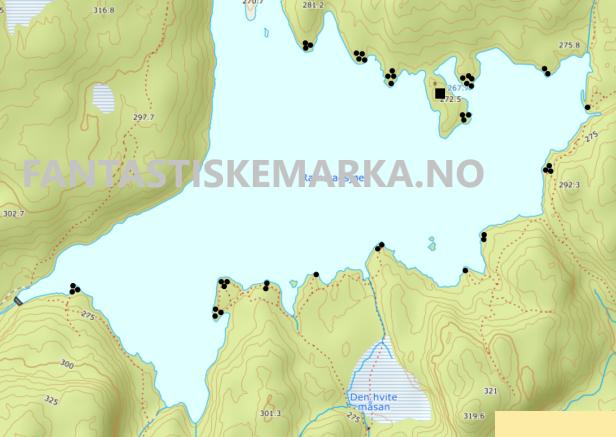 Leirplasser ved Ramstadsjøen i Østmarka - oslomarka - fantastiske marka