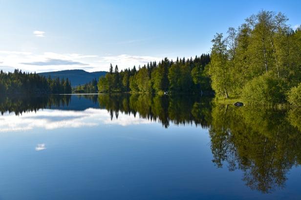 Utsikt over Store Sandungen - Oslomarka - Nordmarka - Fantastiske marka