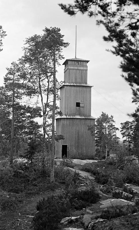 Anno Norsk Skogmuseum - Brannvakttårn på Grønliåsen - Julius Nygaard - 1932