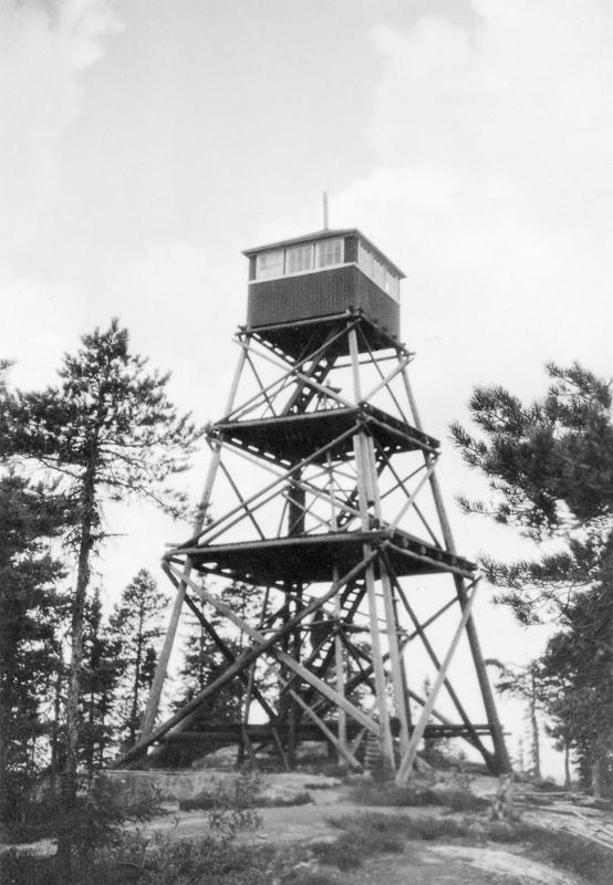 Ukjent fotograf - Kjerringhøgda - Anno Norsk Skogmuseum - 1925