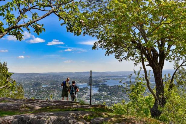 Den beste utsikten - Oslomarka - Vestmarka - Fantastiske marka
